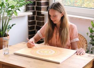 Mandala Meditation - Tipps von Lisa-Marie Ziegler