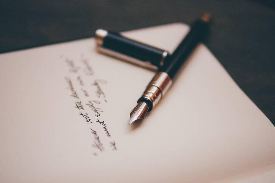 Achtsames Schreiben - Franziska Hülshoff
