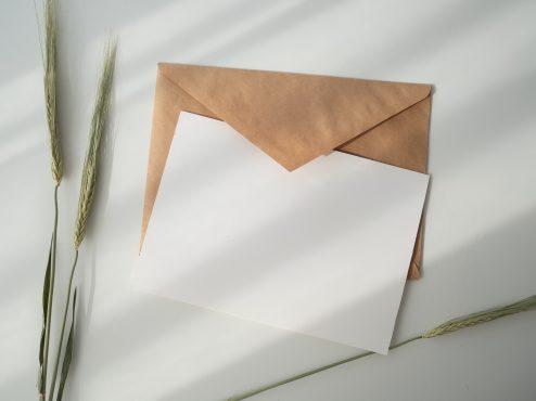 einfachachtsam-Brief